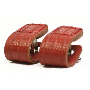 Elvis & Kresse Reclaimed Firehose Wraparound Cufflinks