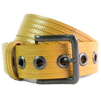 Elvis & Kresse Reclaimed Firehose Big Yellow Belt