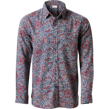 Nomads Long Sleeve Collar Shirt - Whale Blue