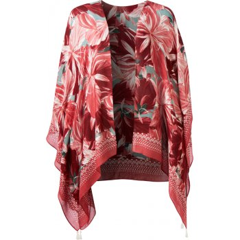 Thought Hibiscus Red Blomst Throw