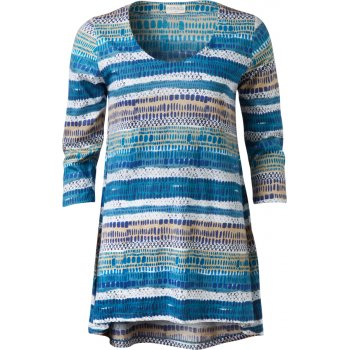 Nomads Aegean Stripe Scoop Hem Tunic