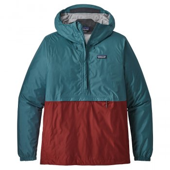 Patagonia Mens Pull Over Torrentshell - Tasmanian Teal