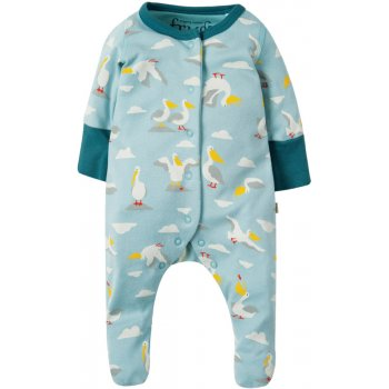 Frugi Stork Lovely Little Babygrow