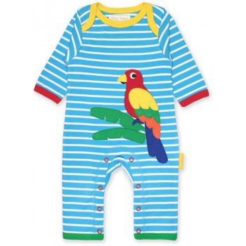 Toby Tiger Parrot Sleepsuit