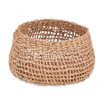 Mendi Natural Seagrass Basket - Small