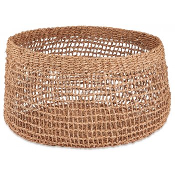 Mendi Natural Seagrass Basket - Large