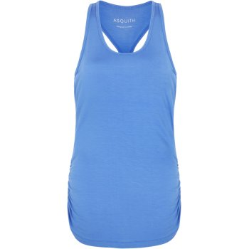 Asquith Bamboo Chi Racer Back Top - Blue Splash