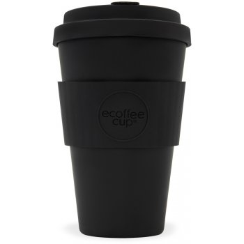 Ecoffee Reusable Bamboo Coffee Cup - Black - 400ml