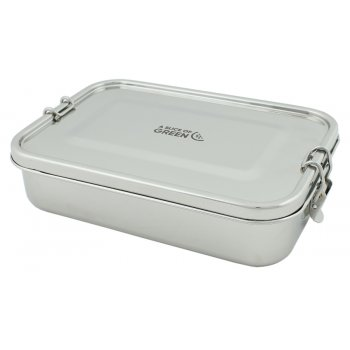 A Slice of Green Yanam Leak Resistant Stainless Steel Lunch Box