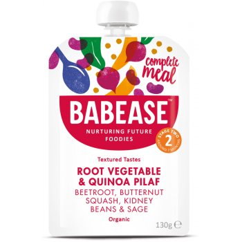 Babease Organic Root Vegetable & Quinoa Pilaf - 130g