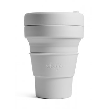 Stojo Collapsible Reusable Coffee Cup - Cashmere - 355ml