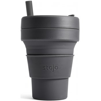 Stojo Biggie Collapsible Reusable Coffee Cup - Carbon - 470ml