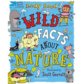 RSPB Wild Facts About Nature Paperback Book