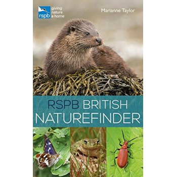 RSPB British Naturefinder Paperback Book