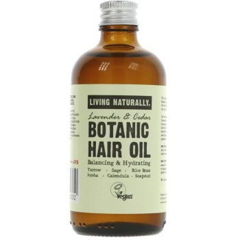 Living Naturally Botanic Hair Oil - 100ml