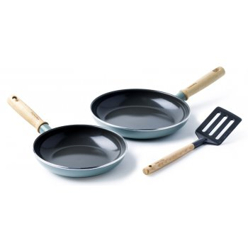 GreenPan Mayflower Twin Pan Set with Utensil
