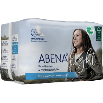 Abena Light Incontinence Pads - Extra Plus - Pack of 10