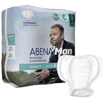 Abena Man Incontinence Pads - Formula 0 - Pack of 15
