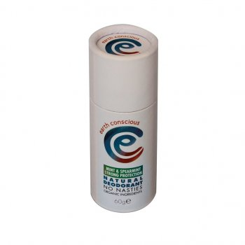 Earth Conscious Peppermint & Spearmint Natural Deodorant Stick - 60g