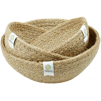 Respiin Mini Jute Bowl Set - Natural