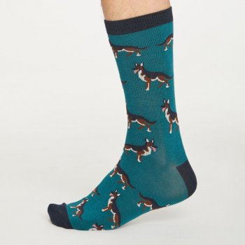 Thought Mens Hound Bamboo Socks