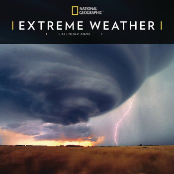 National Geographic Extreme Weather 2020 Wall Calendar