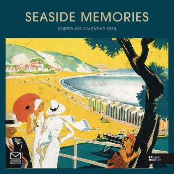 National Railway Museum Seaside Memories 2020 Wall Calendar