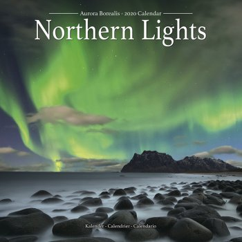 Northern Lights 2020 Wall Calendar