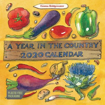 Emma Bridgewater Year In the Country 2020 Wall Calendar