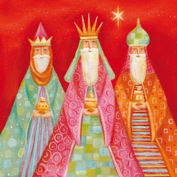 Three Wise Men Festive Charity Cards - Pack of 10