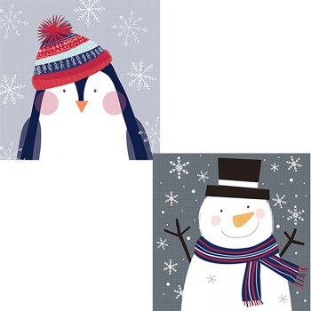 Help for Heroes Cute Christmas Cards - Pack of 10