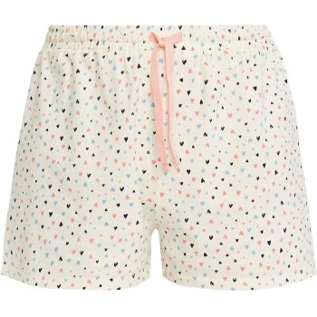 People Tree Heart Print Pyjama Shorts