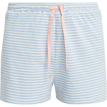 People Tree Blue Stripe Pyjama Shorts