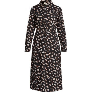 People Tree Piper Floral Shirt Dress