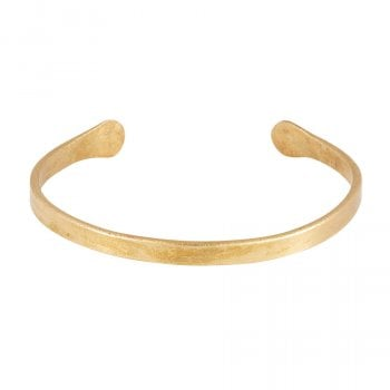 People Tree Narrow Brass Cuff