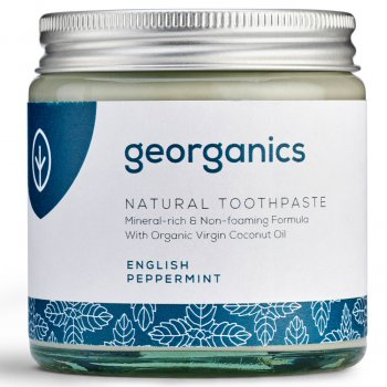 Georganics Natural Toothpaste - English Peppermint - 120ml