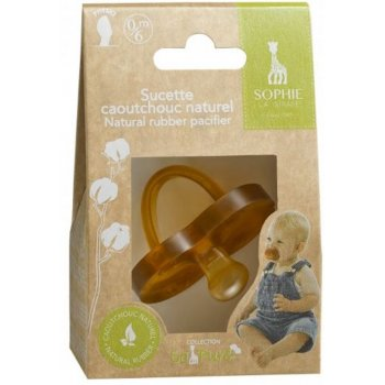 So Pure Sophie La Girafe Natural Rubber Pacifier