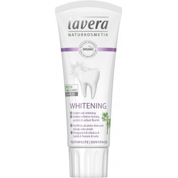 Lavera Basis Sensitiv Whitening Toothpaste with Fluoride - 75ml