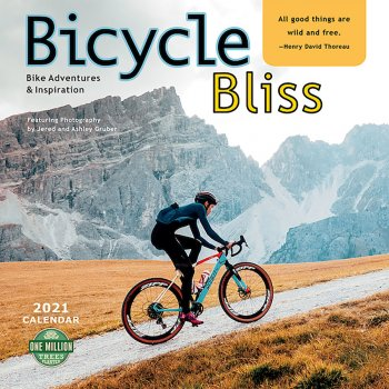Bicycle Bliss 2021 Wall Calendar