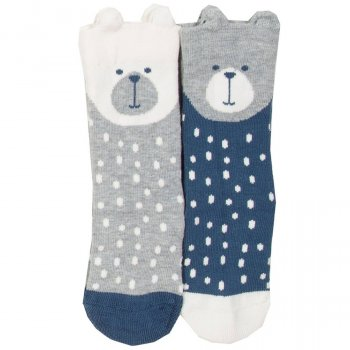 Kite Beary Socks - Pack of 2