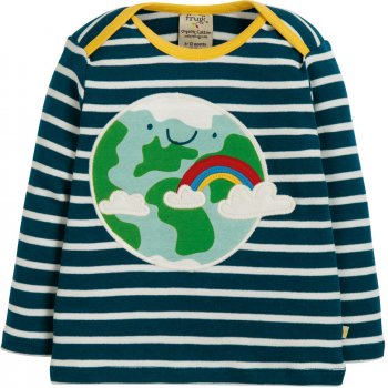 Frugi Earth Applique Top