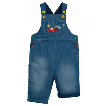 Frugi Hopscoth Dungarees - Truck