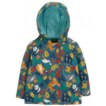 Frugi Endangered Hero Cosy Button Up Jacket