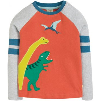 Frugi Dinos Aflie Applique Top