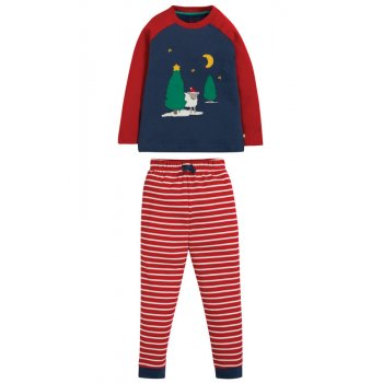 Frugi Festive Sheep Jamie Jim Jams