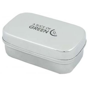 A Slice of Green Stainless Steel Morri Rectangle Container