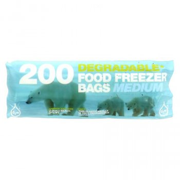 d2w Food and Freezer Bags - Medium - Pack of 200