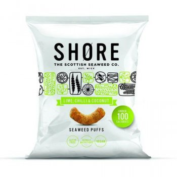 Shore Lime, Chilli and Coconut Seaweed Puffs - 22.5g