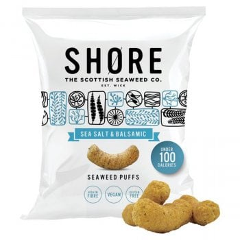 Shore Sea Salt and Balsamic Seaweed Puffs - 22.5g