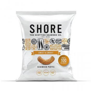 Shore Sweet and Smoky Seaweed Puffs - 22.5g